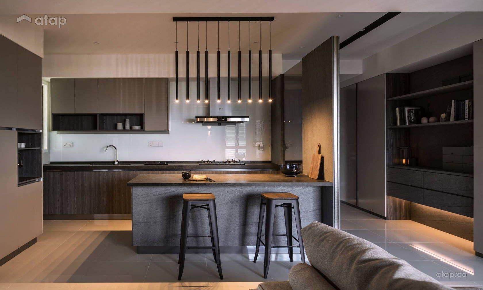 Contemporary Kitchen Condominium Design Ideas Photos Malaysia Atap Co Condominium Design Condominium Interior Condominium Interior Design