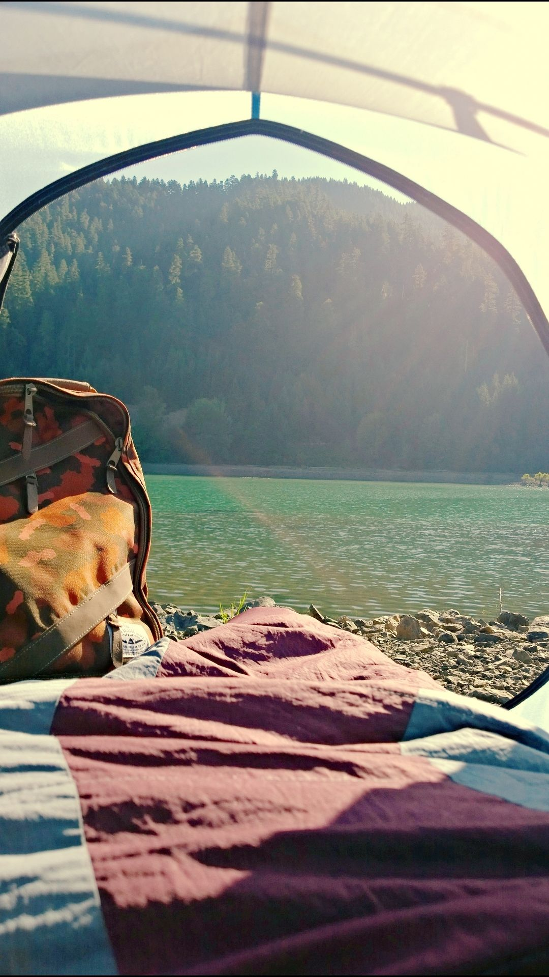 Waking up every morning looking out a tent door or a cabin window is something to look forward to/ Travel / C&ing & Pin by Meredith Remington on Oh the places youu0027ll go | Pinterest ...