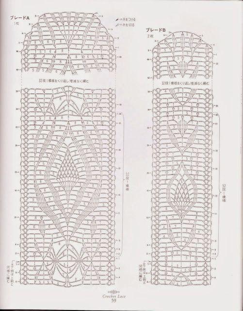 PATRONES GRATIS DE CROCHET: Patrón de un bello camino de mesa a ...