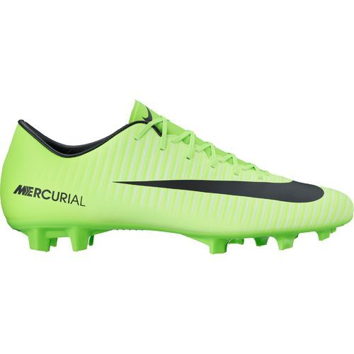 Nike Men\u0027s Mercurial Victory VI Firm Ground Soccer Cleats (Electric Green/Black/Flash  Lime/White, Size 13) - Adult Soccer Shoes at Academy Sports