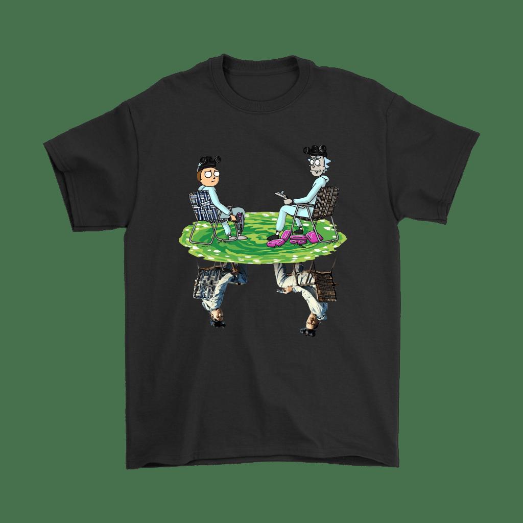Rick And Morty Breaking Bad Reflection Shirts Snoopy Facts Rick And Morty Breaking Bad Morty