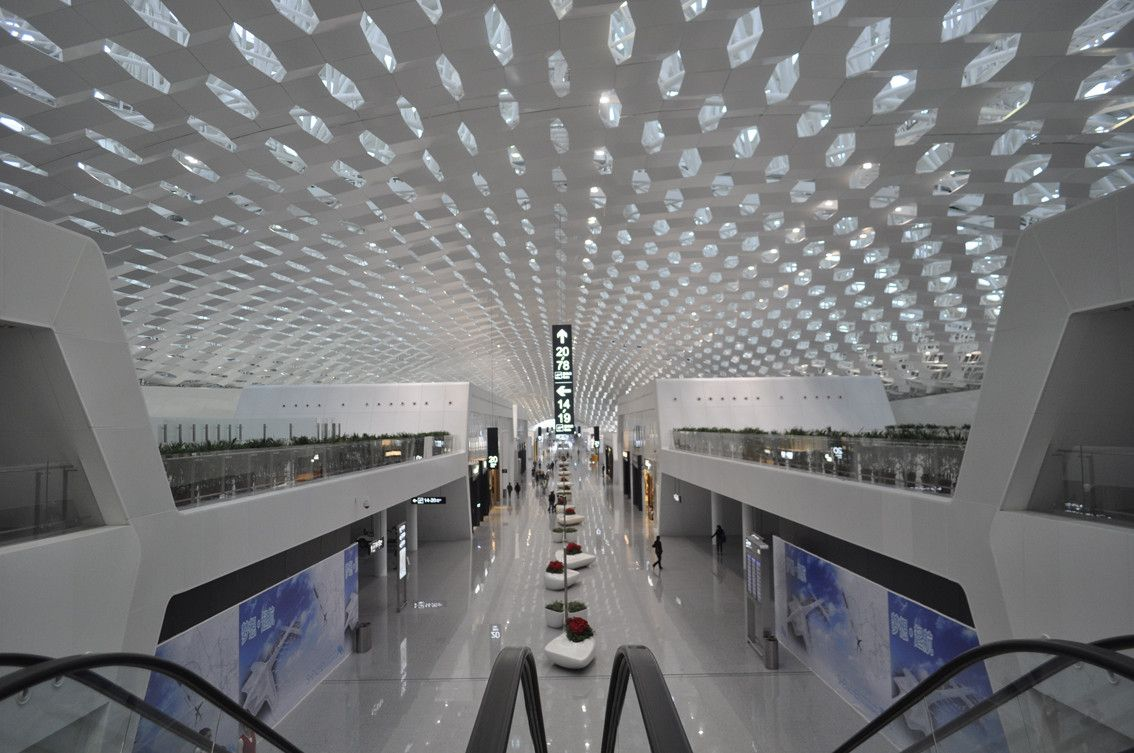 Gallery of Shenzhen Bao'an International Airport / Studio Fuksas - 4