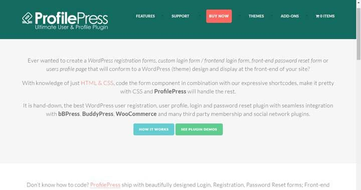 ProfilePress Plugin Review: Create Custom Front End Forms With ...