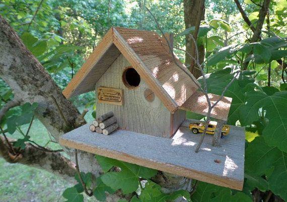 nichoir chalet champ tre id es cadeaux nichoir cabane oiseaux et mangeoire oiseau. Black Bedroom Furniture Sets. Home Design Ideas