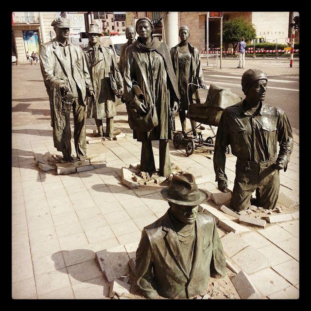 Unique monument near ul. Swidnicka  - POLAND