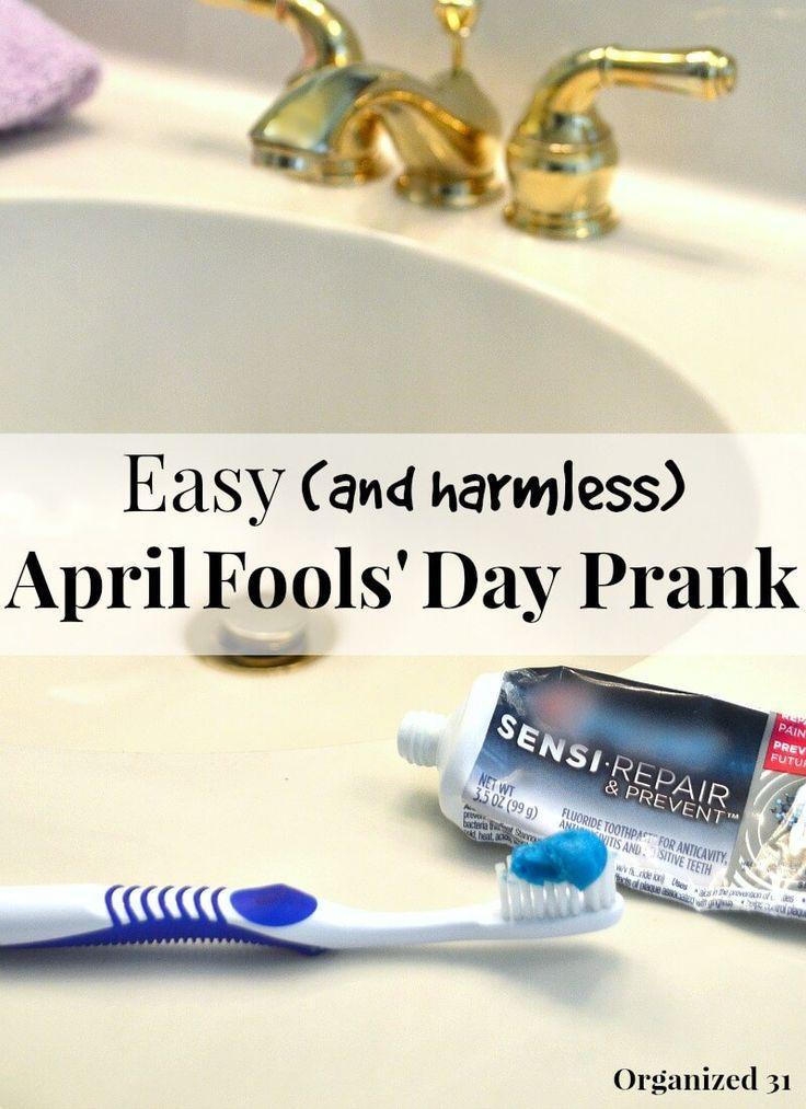 Easy April Fools\' Day Prank Idea | Pranks ideas, Harmless pranks and ...