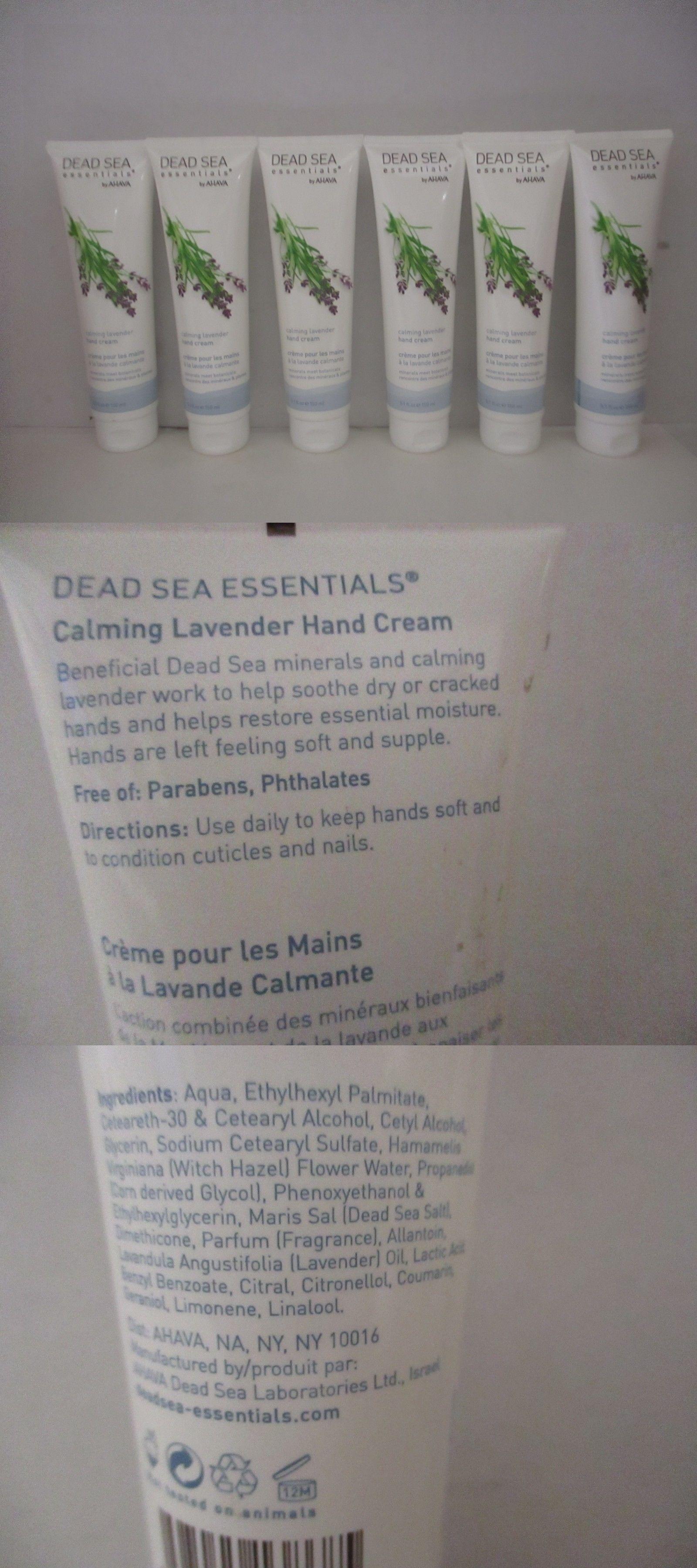 Hand and Nail Treatment Creams: 6 Ahava Dead Sea Calming Lavender ...