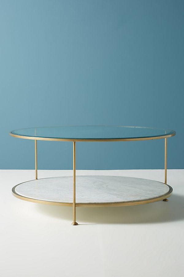 Leavenworth Oval Marble Coffee Table Wohnzimmertische Esstisch