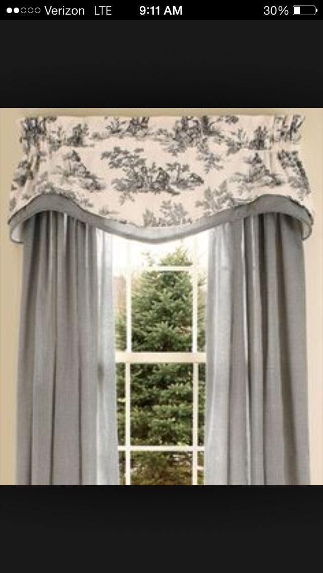 Toile Curtain Idea French Country Curtains Curtains Living Room Country Curtains #rustic #valances #for #living #room