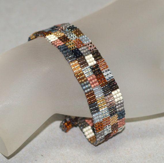 Mine de patchwork étroit... Bracelet facilement. par time2cre8