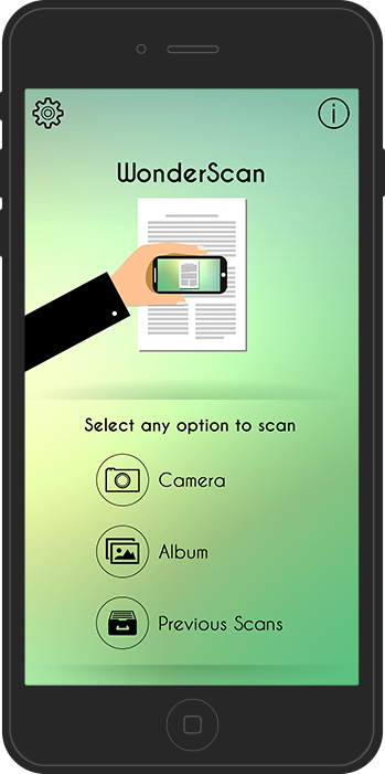 Arrowscan document scanner app for iPhone, iPad, iPod