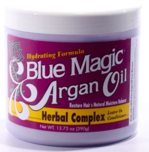 Blue Magic Argan Oil Herbal Complex Leave In Conditioner 13 75 Oz