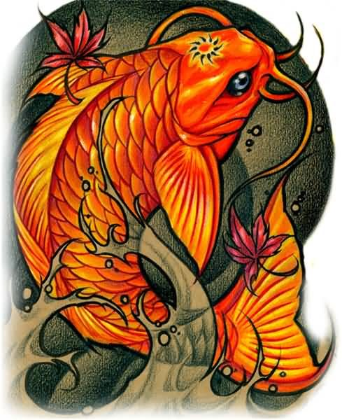 Koi Fish Tattoo Google Search Koi Tattoo Design Tattoo Drawings Cute Animal Tattoos
