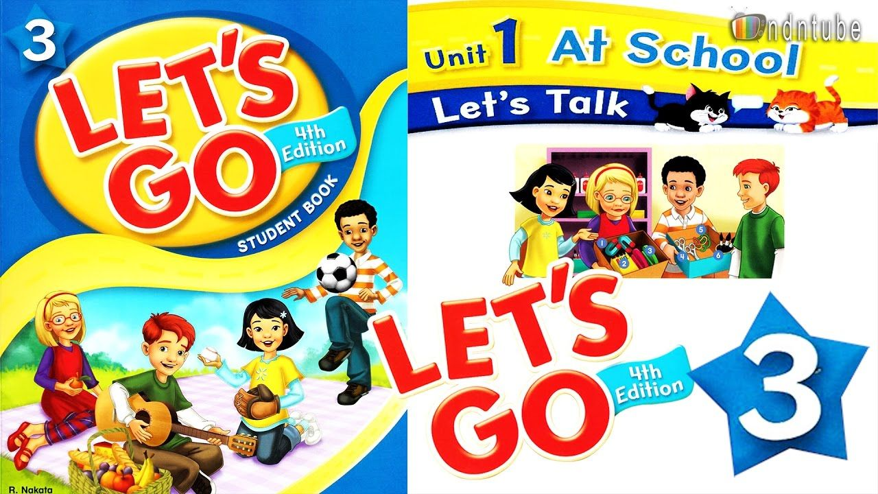 let s go 3 unit 1 at school 4th edition youtube 子供英語学習