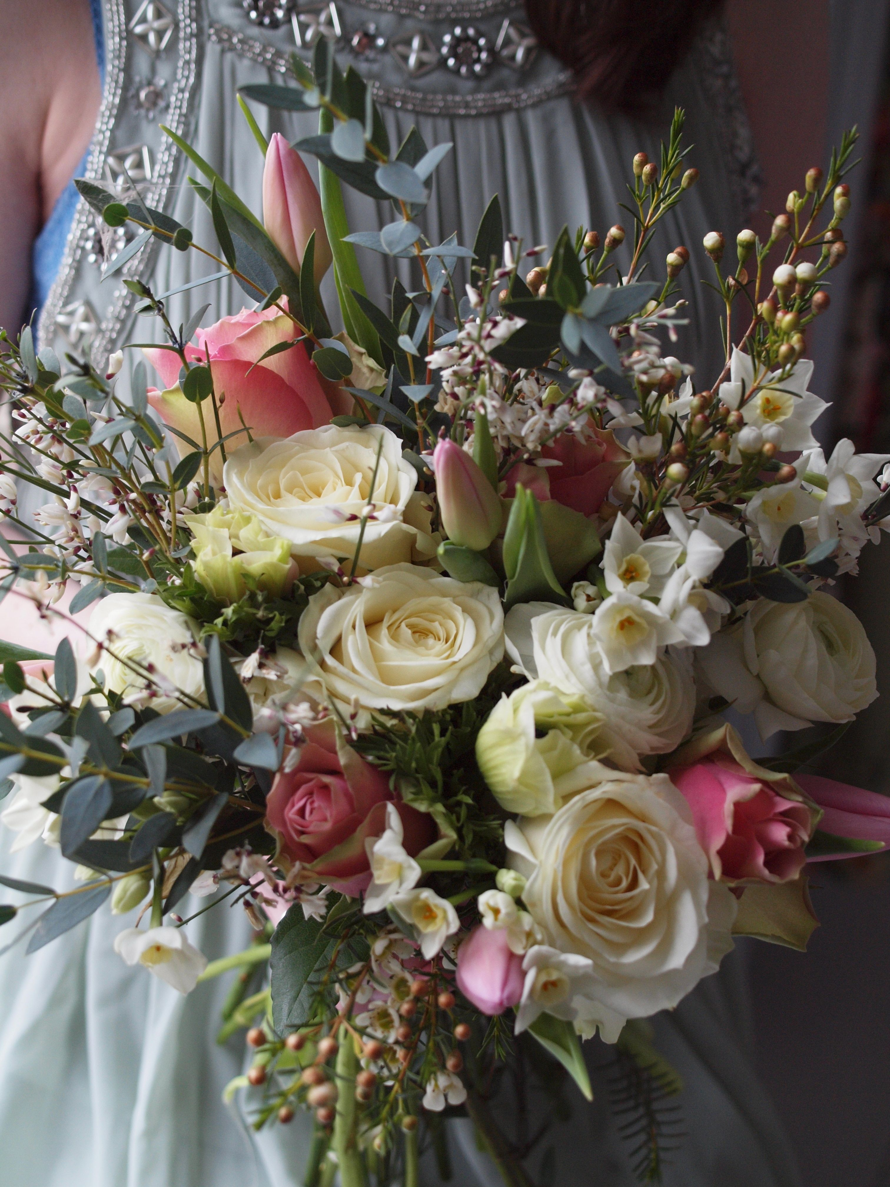 Spring Wedding Bouquet Foxtail Lilly Flowers Pinterest Spring