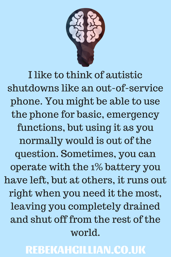 The Difference Between Meltdowns and Shutdowns   Autism spectrum