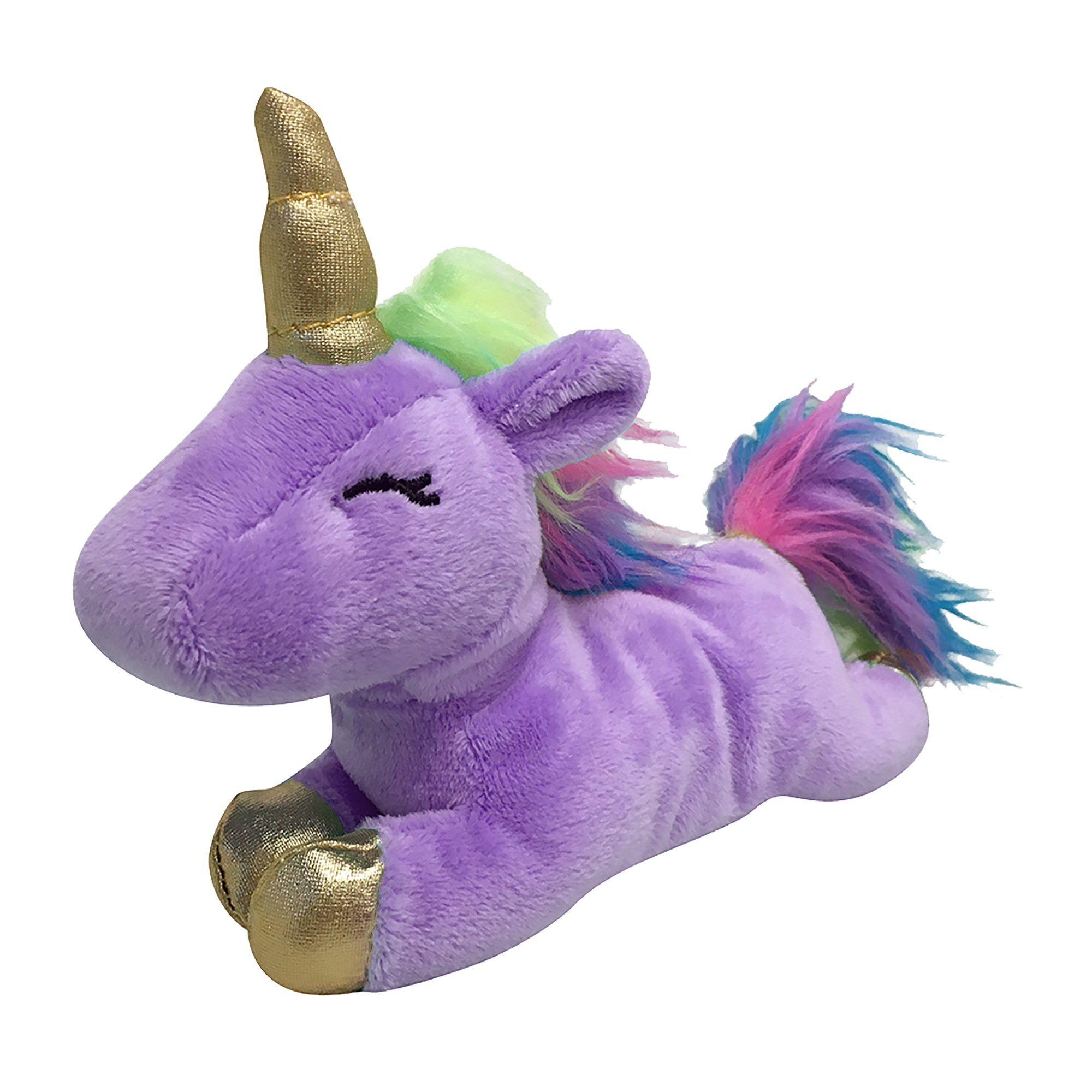 Foufoubrands Foufit Unicorn Plush Purple Dog Toy Small In 2019