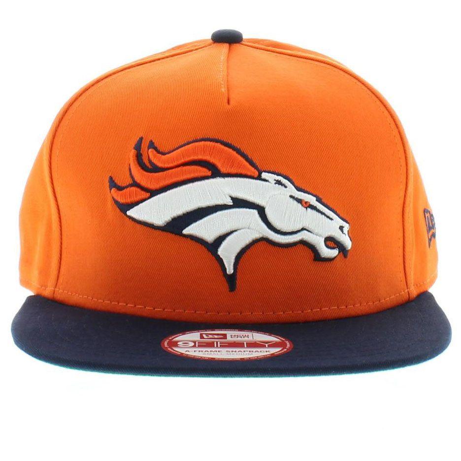 66c140624c9 Denver Broncos Team Colors The Team Flip 2 SNAPBACK 950 9fifty New .
