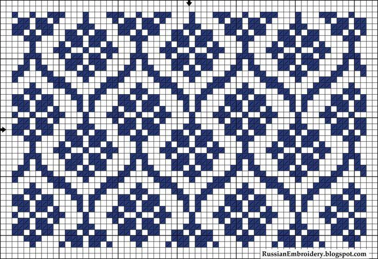 Este es un patrón para tejer a dos agujas un bonito dibujo que imita ...