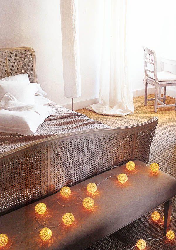 #Schlafzimmer 2018 Weihnachtsbeleuchtung Im Schlafzimmer  #Elternschlafzimmer #schlafzimmer Ideen #Dekoration Ideen