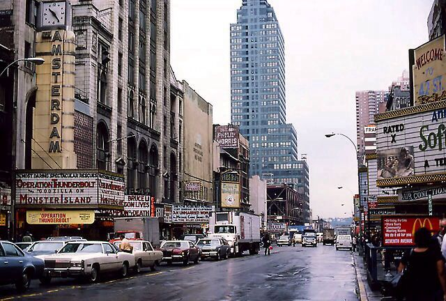 42nd St 1977 I Miss All Those Old Grungy Movie Houses That Were