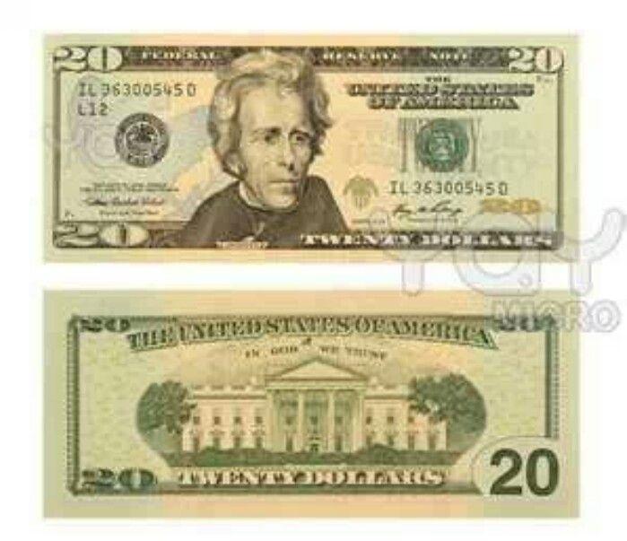 Many Times We Feel We Are Worthless Very Good Story Printable Play Money Twenty Dollar Bill 100 Dollar Bill