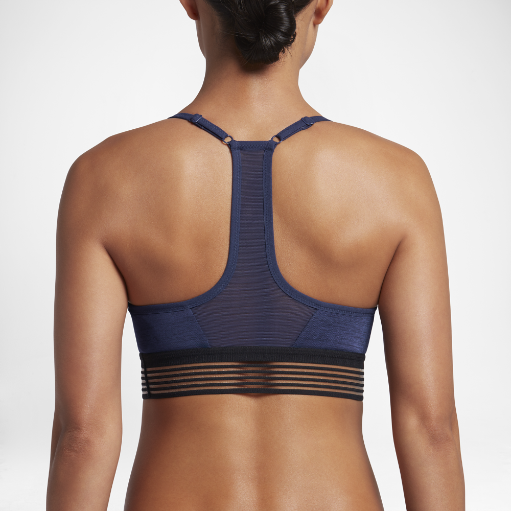 9cb9dcfb5d Nike Indy Cooling Women s Light Support Sports Bra Size Medium (Blue) -  Clearance Sale
