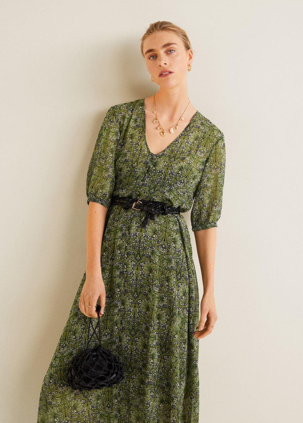 6937d35601f Flower print dress - Women in 2019 | dfe | Dress skirt, Shirt Dress ...