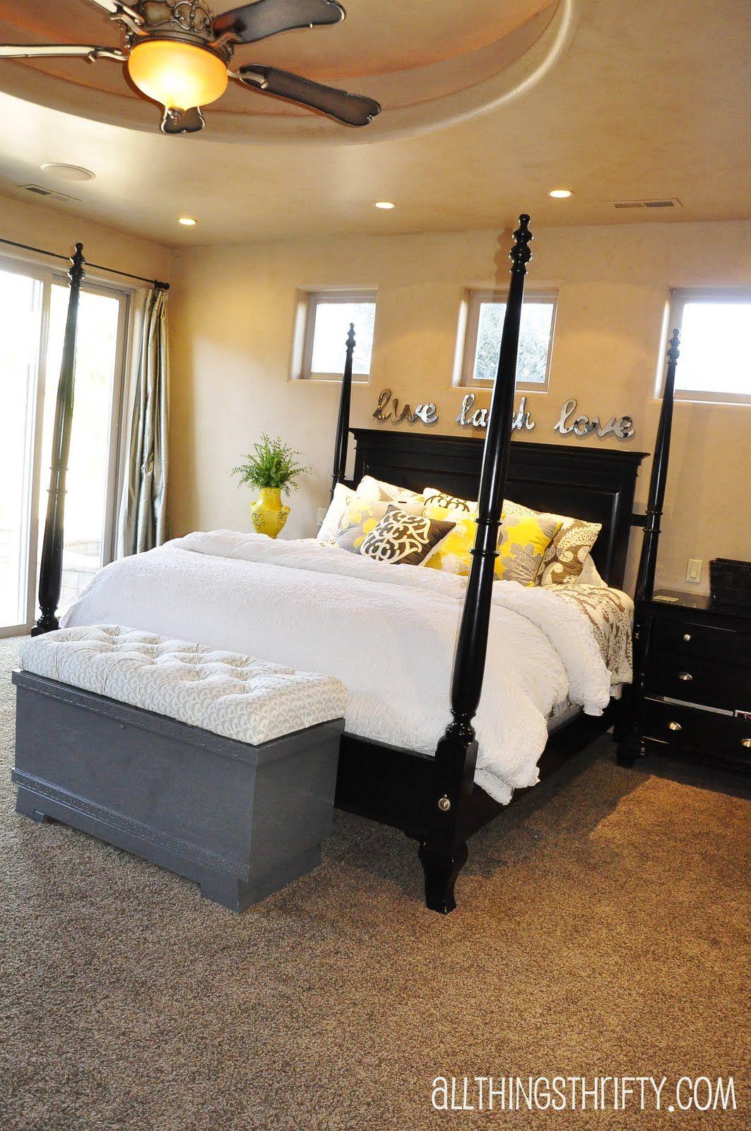Tutorial How to do Diamond Tufting Black bedroom