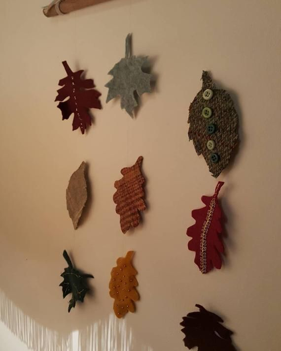 Falling autumn leaves mobile/wall hanging #autumnleavesfalling