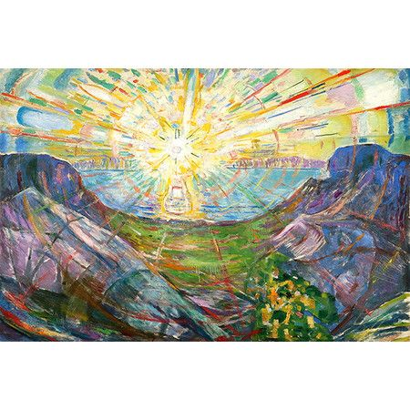 Found it at Wayfair - 'The Sun, 1916 #2' by Edvard Munch Painting Print on Wrapped Canvas http://www.wayfair.com/daily-sales/p/Wall-Art-Under-%24100-%27The-Sun%2C-1916-%232%27-by-Edvard-Munch-Painting-Print-on-Wrapped-Canvas~IZN5827~E22106.html?refid=SBP.rBAZEVXMpAID1ngl7jZOAt6qUEBErUdHrcsDlZm2PG0