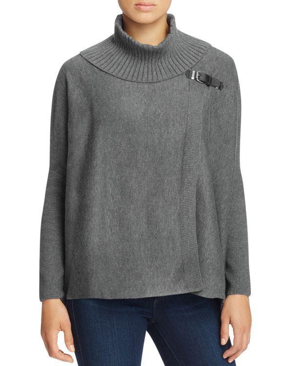 Calvin Klein Turtleneck Cape Sweater