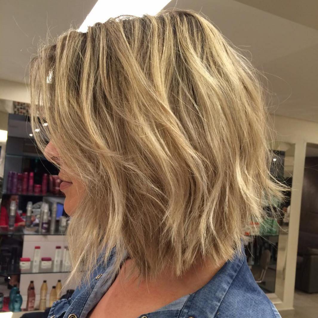 fun and flattering medium hairstyles for women choppy layers