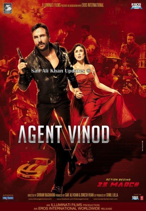 Agent Vinod 2012 Dvdscr Single Link Top Bollywood Movies Bollywood Movies Full Movies Online Free