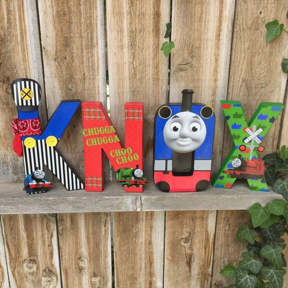 Image Result For Thomas The Tank Engine Decorated Letters