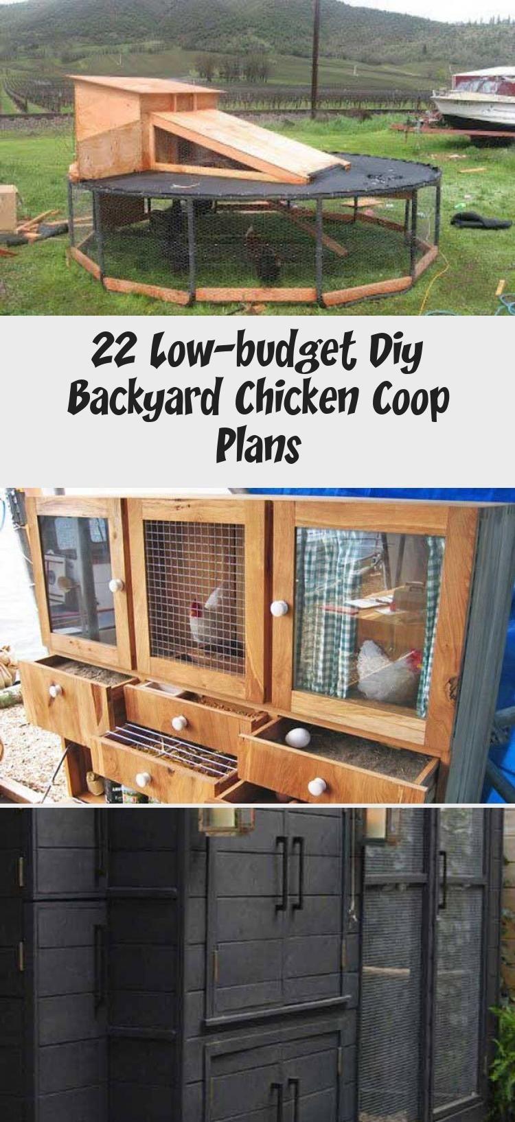 22 Low Budget Diy Backyard Chicken Coop Plans: 22 Low-budget Diy Backyard Chicken Coop Plans In 2020