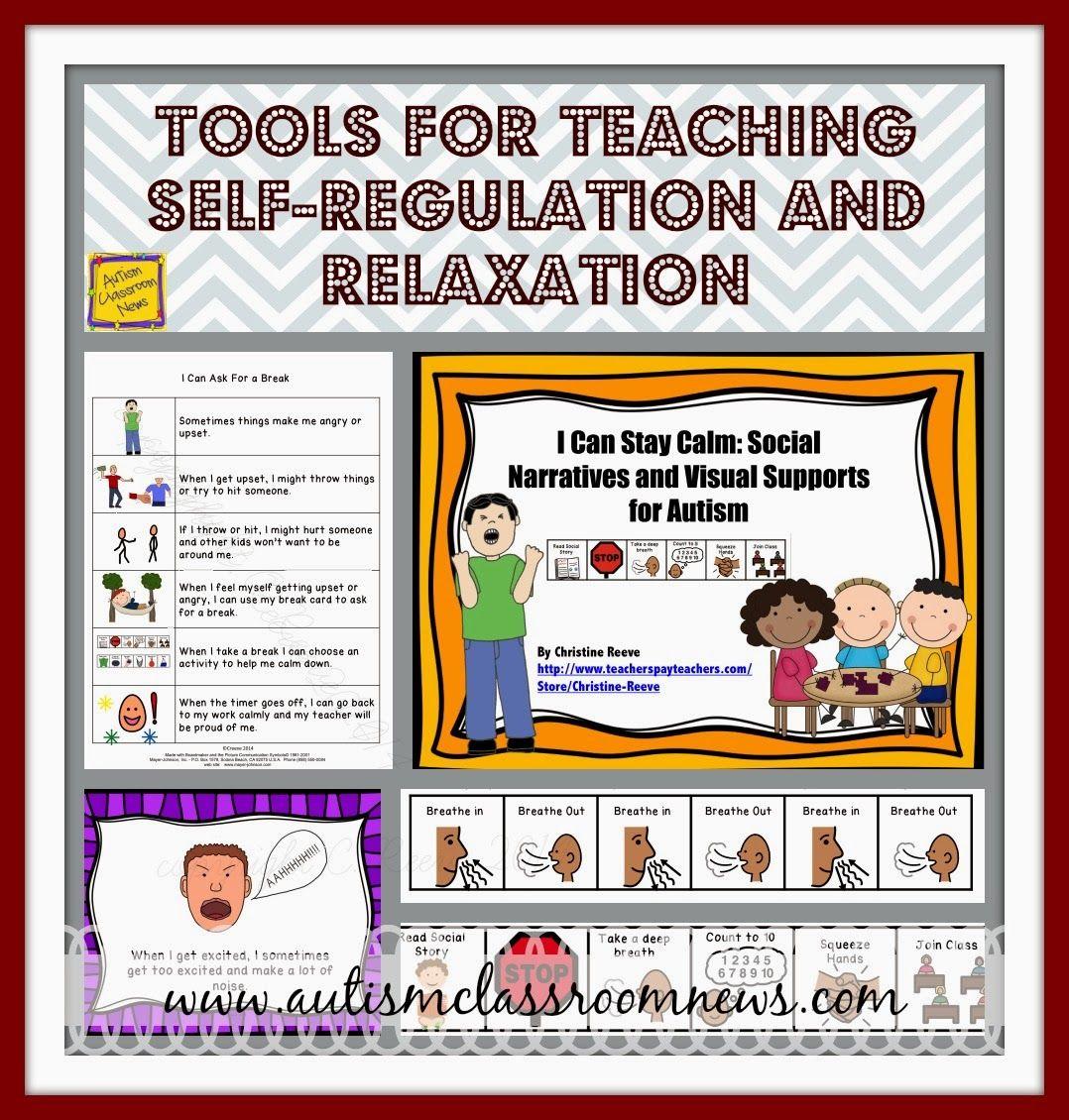 Calm Down Tools For Self Regulation