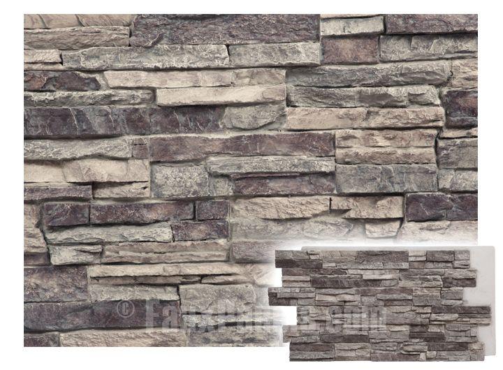 Regency Stacked Stone Misty Morning Panel Faux Panels Siding