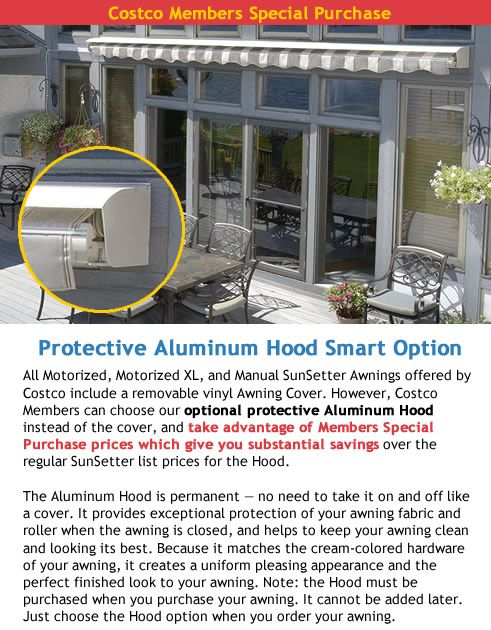 SunSetter Awnings - Motorized and XL | Patio awning ...