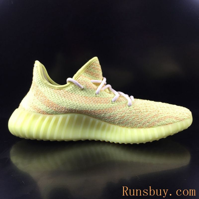 9188ee611 New Adidas Yeezy Boost 350 V2 Kanye West Low Pure Golden Yellow ...