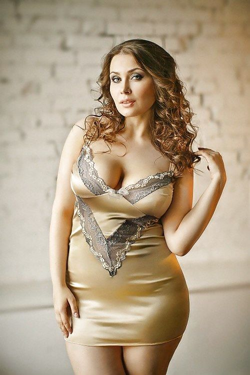 Plus size model beautiful