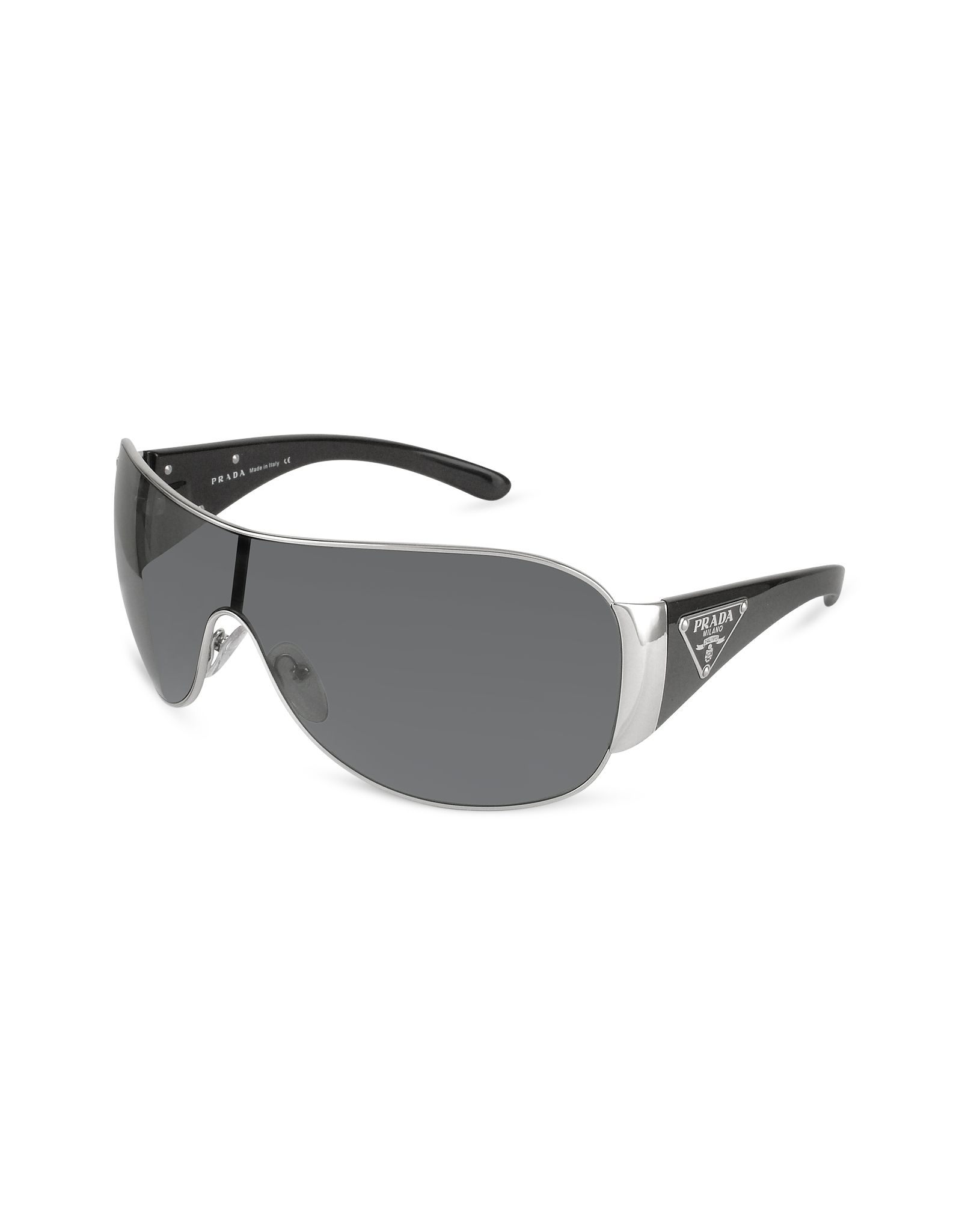 Prada Triangle-Crest Shield Sunglasses $328.00 Actual transaction ...