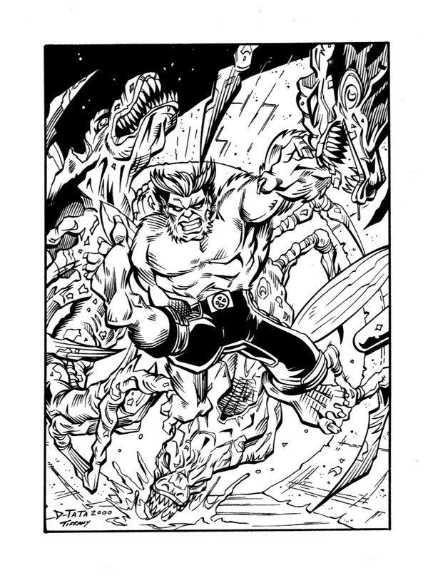 X-MEN: BEAST card by POPSTATA