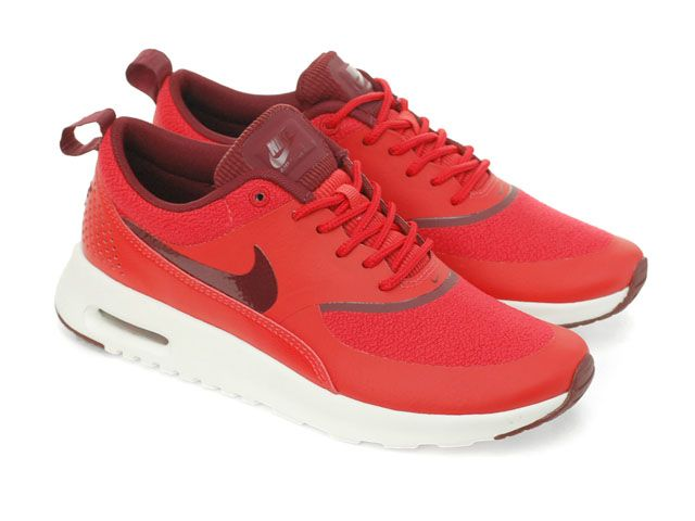save off 1550e 03be3 Nike Wmns Air Max Thea Action Red Black (599409-603) - RMKstore