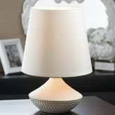 "Found it at Wayfair.ca - Pebble Beach 10"" H Table Lamp with Empire Shade"