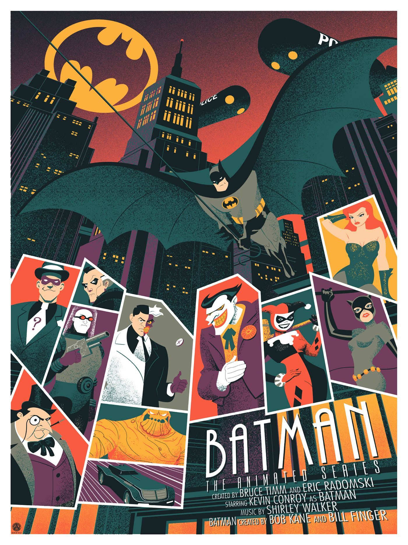 Batman The Animated Series On Behance 2020 Dcコミックス
