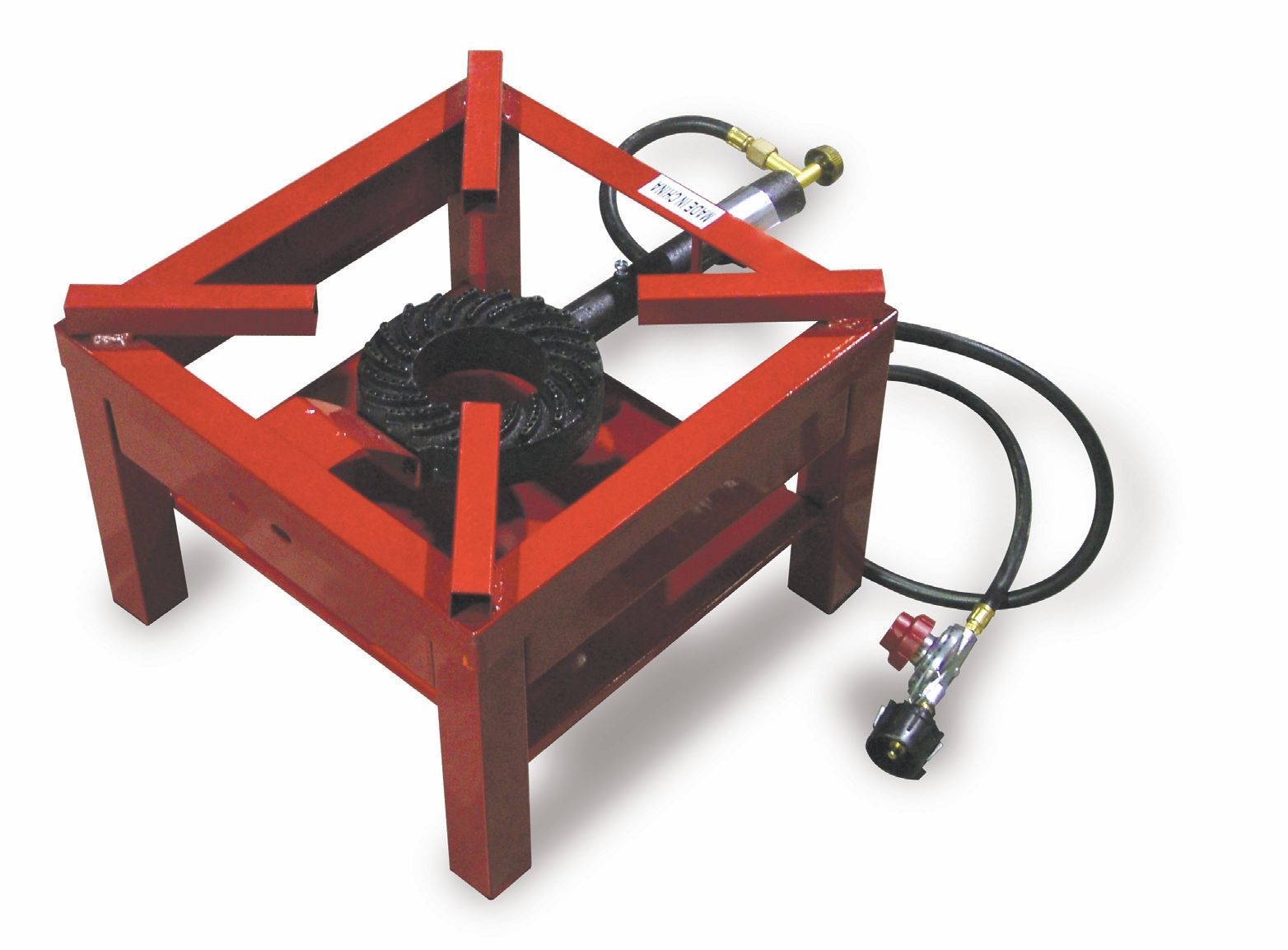 Omcan Fma Red Outdoor Cast Iron Propane Burner Model 23633