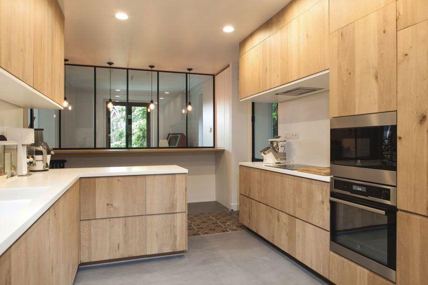 Extension moderne sur une maison ancienne dans les Hauts de ...