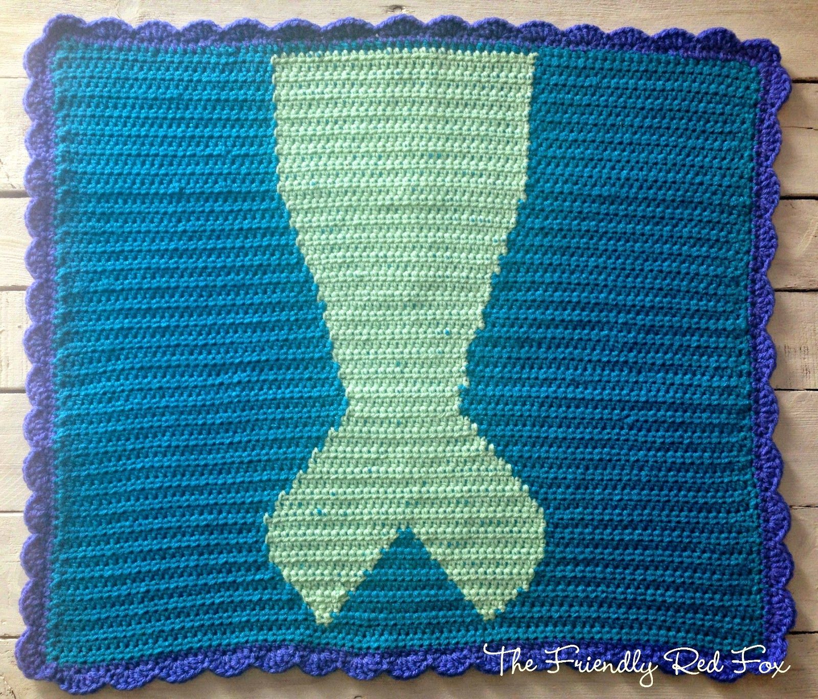 Knitted Mermaid Tail Blanket Pattern Free New Design