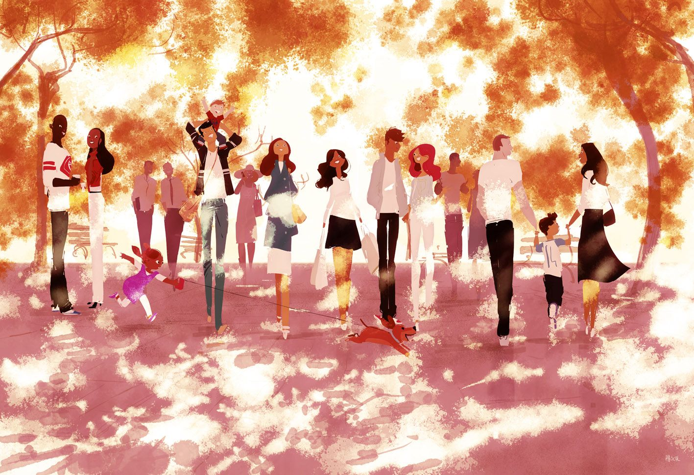 The Spring Collection. #pascalcampionart